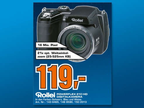 Rollei Powerflex 210 HD © COMPUTER BILD