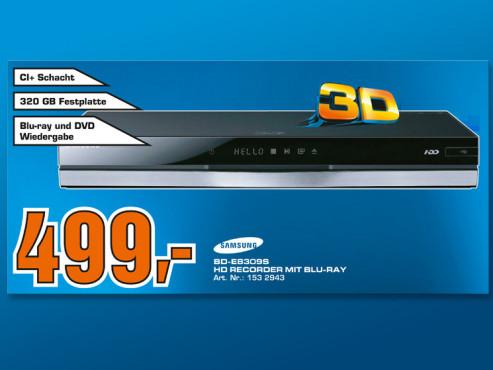 Samsung BD-E8309S ©COMPUTER BILD