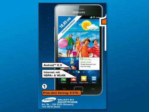 Samsung Galaxy S2 ©COMPUTER BILD