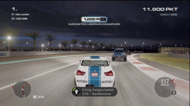 Grid 2: Achievement © Codemasters