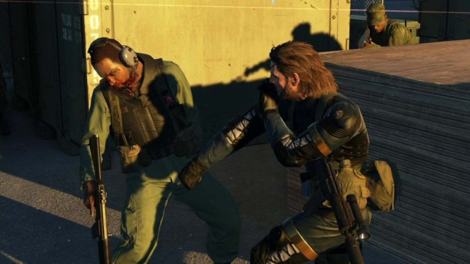 Actionspiel Metal Gear Solid 5 – Ground Zeroes: Kampf © Konami