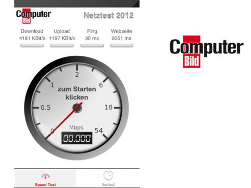 Computerbild Netztest 2012 ©RadioOpt GmbH