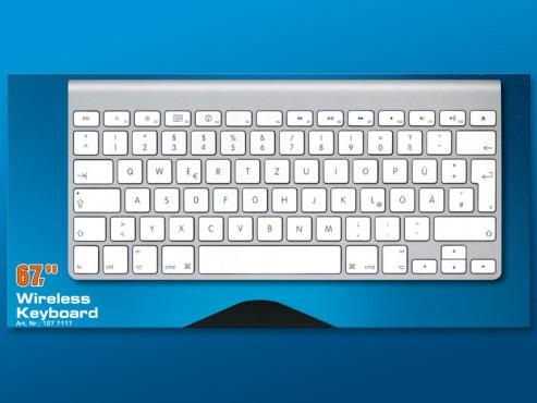 Apple Kabellose Tastatur DE ©COMPUTER BILD