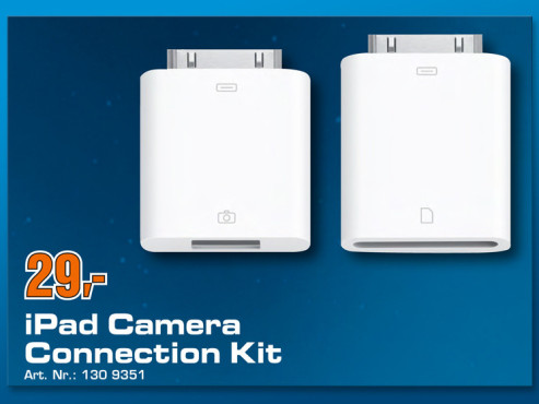 Apple iPad Camera-Connection-Kit © COMPUTER BILD
