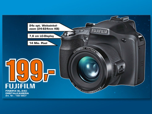Fujifilm Finepix SL 240 ©COMPUTER BILD