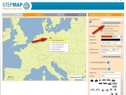 Screenshot StepMap © COMPUTER BILD