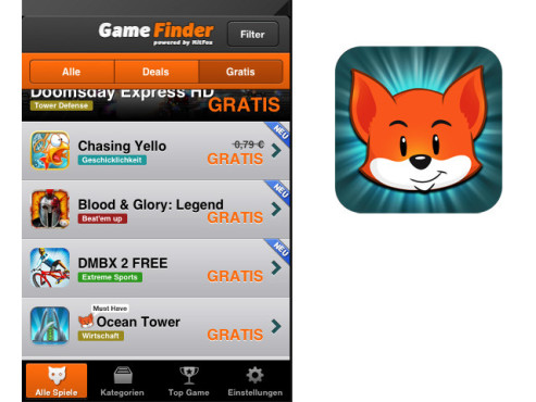 Game Finder © Hitfox GmbH