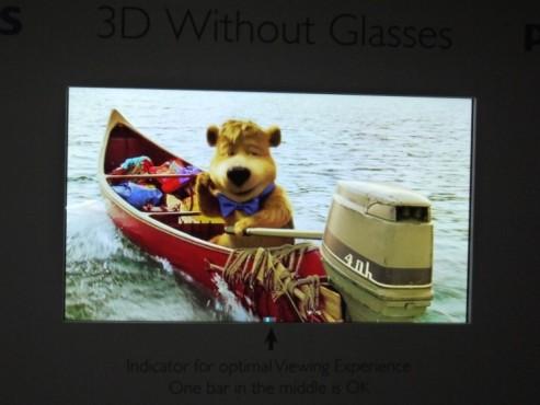 Philips: 3D ohne Brille dank 4K-Auflösung ©COMPUTER BILD