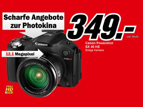 Canon PowerShot SX40 HS ©Media Markt
