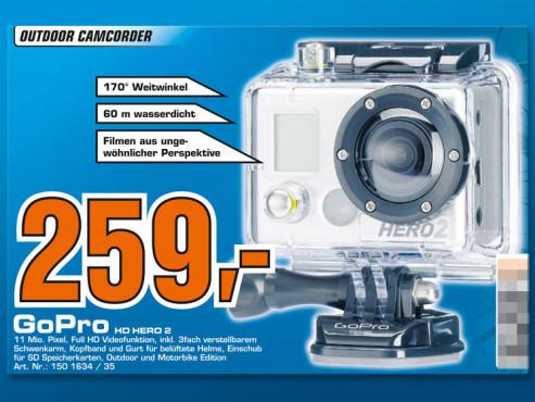 GoPro HD HERO 2 ©Saturn