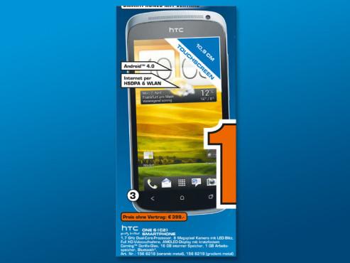 HTC One S C2 ©Saturn