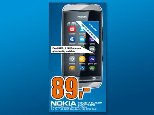 Nokia Asha 305 ©Saturn