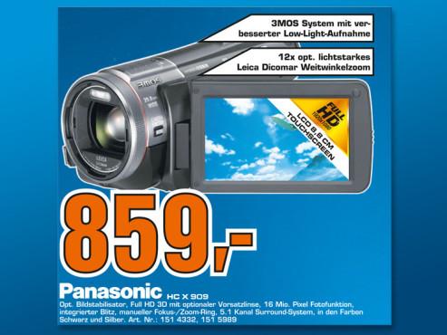 Panasonic X909 ©Saturn