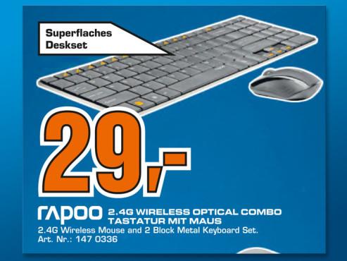 Rapoo Wireless Optical Combo 9060 ©Saturn