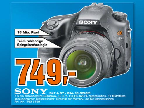 Sony Alpha 57 Kit 18-55 mm (SLT-A57VK) ©Saturn