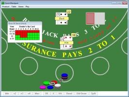 Screenshot 2 - Quick Blackjack Portable