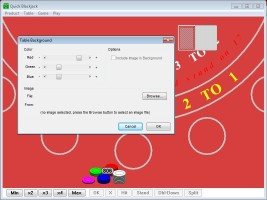 Screenshot 3 - Quick Blackjack Portable