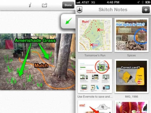 Screenshot Skitch © Evernote