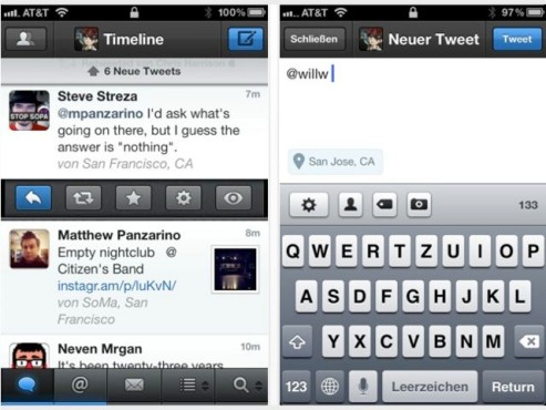 Screenshot Tweetbot © Apple