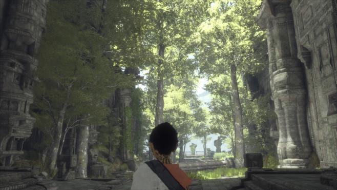 """The Last Guardian im Test: Eine Ode an die Freundschaft Immer wieder verblüfft """"The Last Guardian"""" mit beeindruckenden Arealen. ©Sony"""