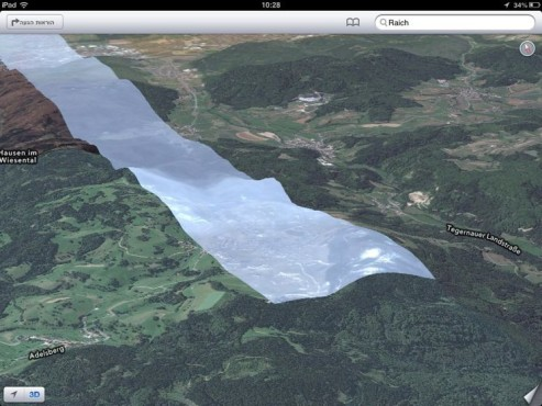 Screenshot Karten-App © theamazingios6maps.tumblr.com/