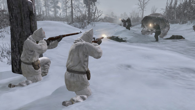 Company of Heroes 2: Deckung ©THQ