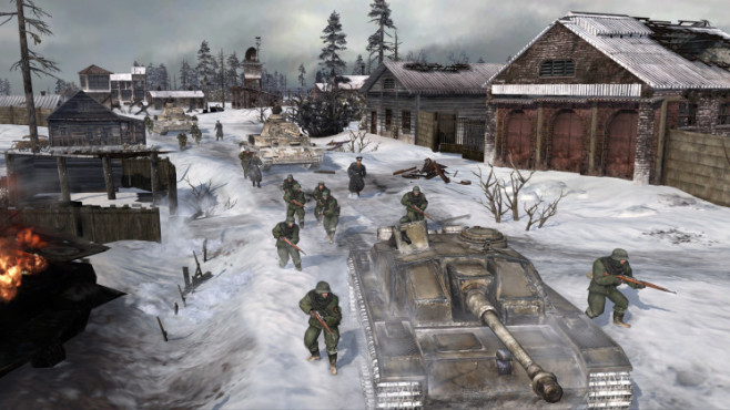 Company of Heroes 2: Dorf © THQ