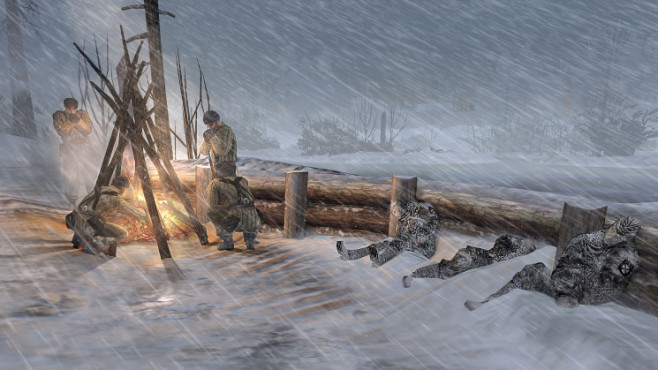 Company of Heroes 2: Feuer ©THQ