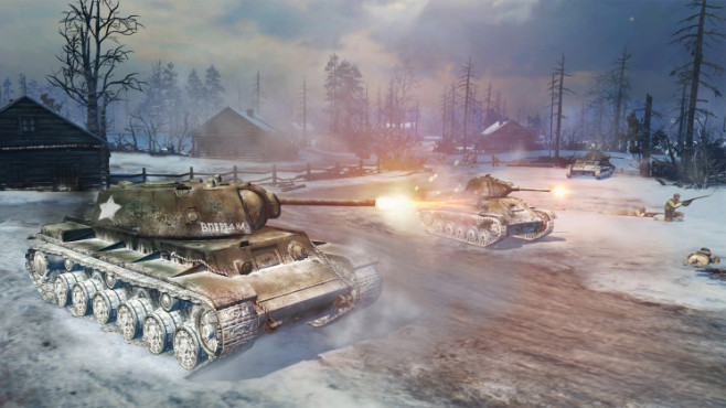 Company of Heroes 2: Tank © THQ