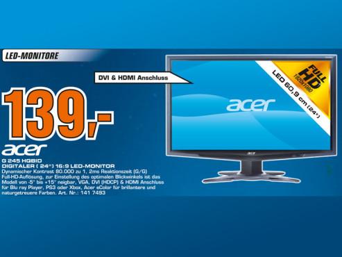 Acer G 245 HQBID ©Saturn