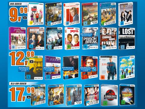 DVD- und Blu-ray-Boxen ©Saturn