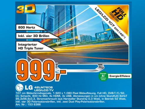 LG 42LM760S ©Saturn