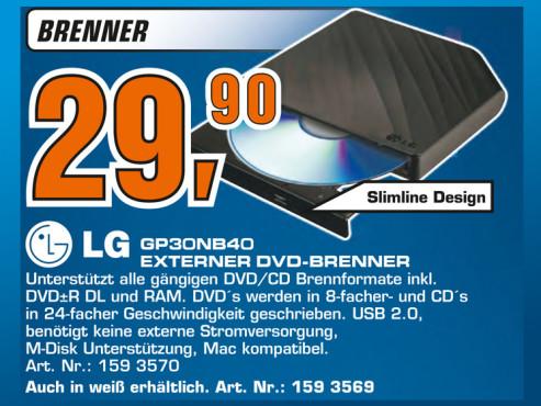 LG GP30NB40 ©Saturn