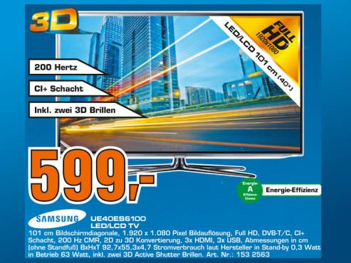 Samsung UE40ES6100 ©Saturn
