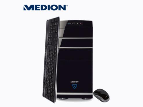 Medion Akoya E4065D (MD8379) Multimedia PC (erhältlich bei Aldi Nord und Süd) ©Aldi Nord