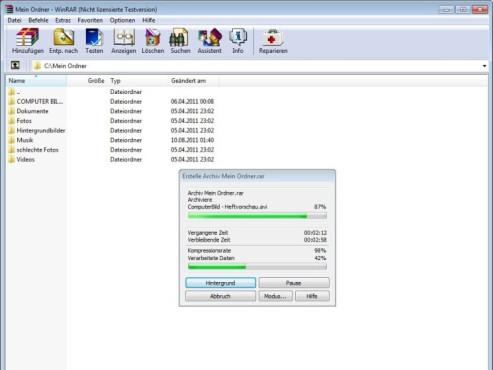 WinRAR (64 Bit) ©COMPUTER BILD