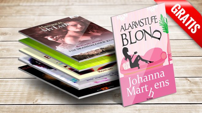 eBooks bei Amazon © Alarmstufe Blond, Historica My Lady, COMPUTER BILD,  tuja66 - Fotolia.com