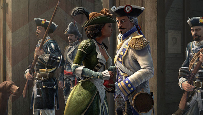 Actionspiel Assassin's Creed 3 – Liberation: Frau © Ubisoft