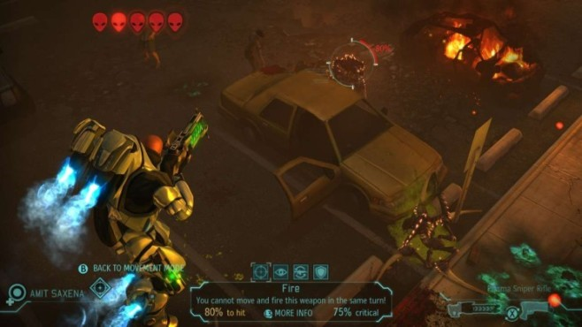 Strategiespiel Xcom – Enemy Unknown: Jetpack © Take Two