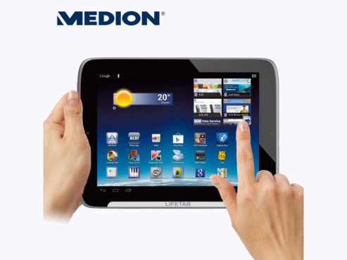 Medion Lifetab S9512 (MD 99200) Tablet-PC © Aldi Nord