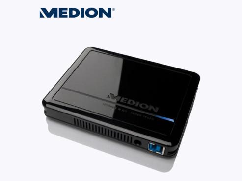 Medion P82752 (MD 90192) externe Festplatte ©Aldi Nord