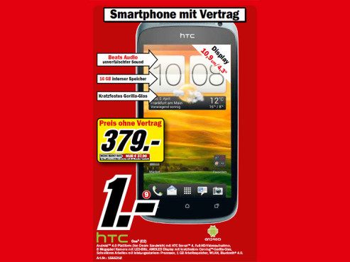 HTC One S C2 © Media Markt