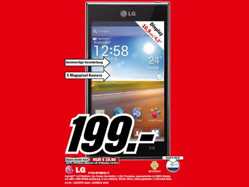 LG Optimus L7 ©Media Markt