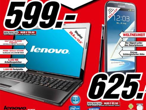 Lenovo G580 (MBBFW) ©Media Markt