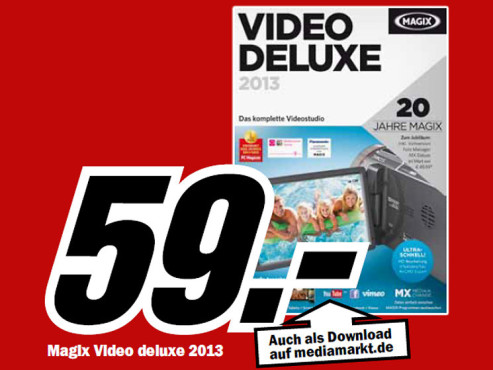 Magix Video deluxe 2013 HD © Media Markt