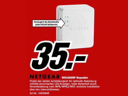Netgear WN1000RP ©Media Markt