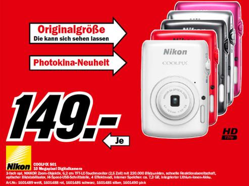 Nikon Coolpix S01 ©Media Markt