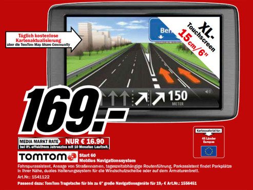 TomTom Start 60 EU © Media Markt