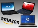 Notebook-Schnäppchen bei Amazon ©Asus, HP, Packard Bell , Amazon