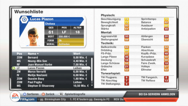 Fifa 13: Piazon © Electronic Arts